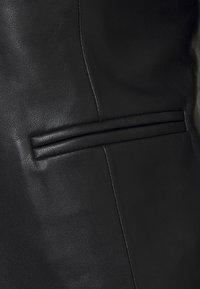 2nd Day - JAMES - Leather jacket - black - 2