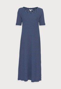 Esprit - WAFFLE DRES - Jersey dress - dark blue - 4