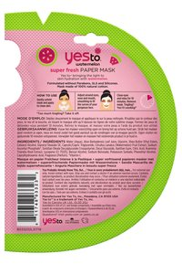 Yes To - WATERMELON SUPER FRESH PAPER MASK 4 PACK - Skincare set - - - 1