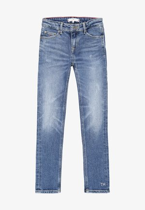 NORA - Slim fit jeans - blue denim