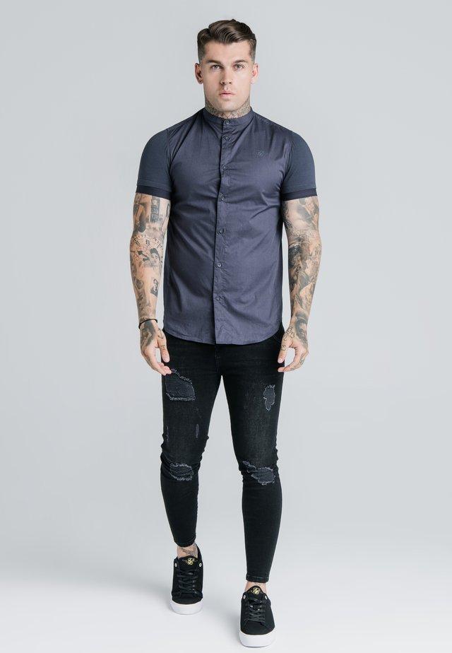 Overhemd - navy - pacific fade