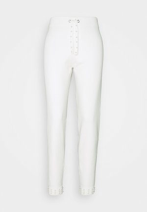 Tracksuit bottoms - ivory