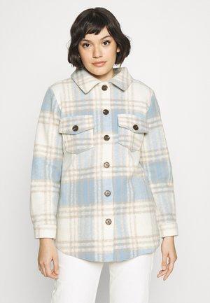 SHAKET KARO - Summer jacket - creme/blau