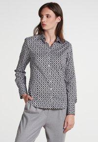 Eterna - MODERN CLASSIC - Button-down blouse - black - 0