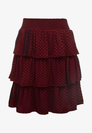 BECKY - A-line skirt - blackberry