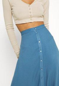 Vila - VIVISH - A-line skirt - captains blue - 3