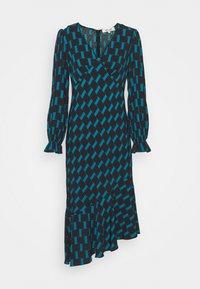 Diane von Furstenberg - MANAL DRESS - Day dress - mirrors medium dark ocean - 6