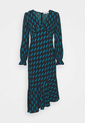 MANAL DRESS - Day dress - mirrors medium dark ocean