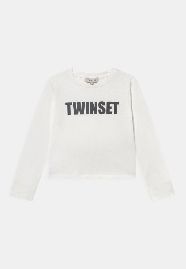 Långärmad tröja - off white