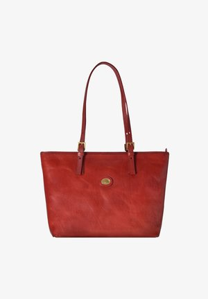 THE BRIDGE STORY DONNA SHOPPER TASCHE LEDER 32 CM - Shopping Bag - rosso ribes