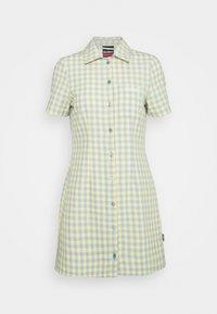 Kickers Classics - GINGHAM SHIRT DRESS - Shirt dress - blue/yellow - 4