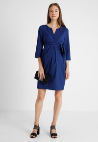 9Fashion - DAVEA DRESS  - Korte jurk - navy - 1