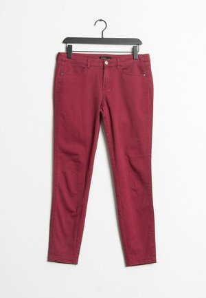 Relaxed fit jeans - red
