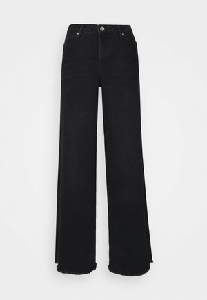 VMALISIA WIDE - Flared jeans - black denim