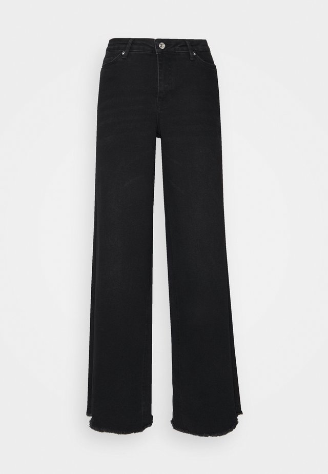 VMALISIA WIDE - Flared Jeans - black denim