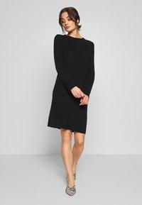 JDY - JDYGADOT TREATS - Strikket kjole - black - 1