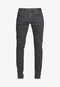 Emporio Armani - Slim fit jeans - denim grigio - 4