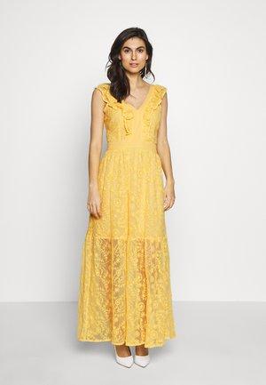 ABITO LUNGO WELE - Maxi dress - lemon drop