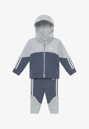OUTLINE HOOD SET - Tuta - light grey