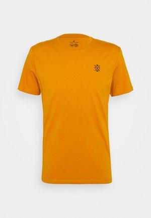 T-shirt - bas - flame brown