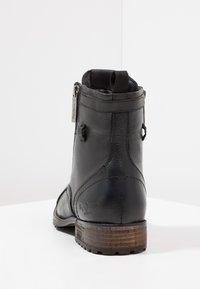 Pepe Jeans - MELTING ZIPPER NEW - Bottines à lacets - black - 3