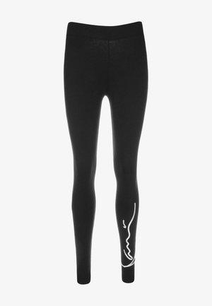 SIGNATURE - Leggings - Trousers - black