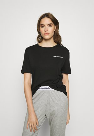 LOGO - Pyjama top - black