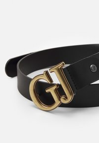 Guess - ADJUSTABLE PANT BELT - Belte - black - 2