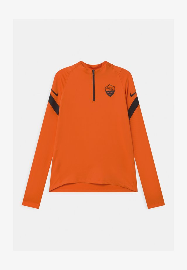 AS ROM UNISEX - Club wear - safety orange/black