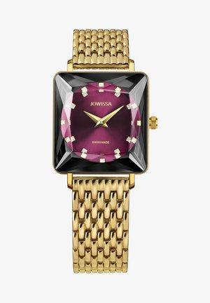Horloge - bordeaux / gold