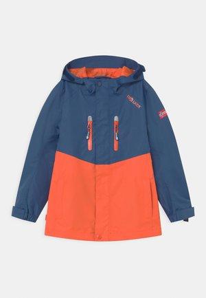 NUSFJORD UNISEX - Hardshellová bunda - mystic blue/orange