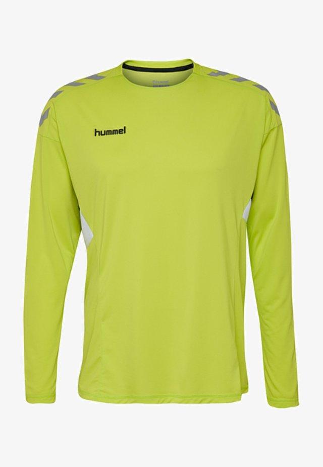 TECH MOVE - Bluzka z długim rękawem - neon green