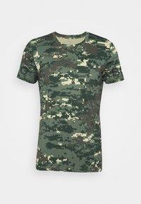 Björn Borg - TEE - Print T-shirt - duck green - 0
