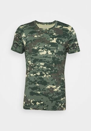 TEE - Print T-shirt - duck green