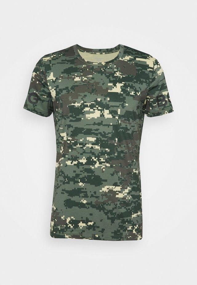 TEE - Print T-shirt - duck green