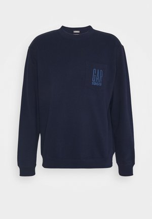 LOGO CREW - Sweatshirt - new navy