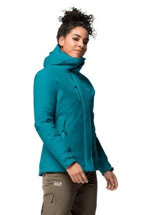 Winter jacket - dark cyan