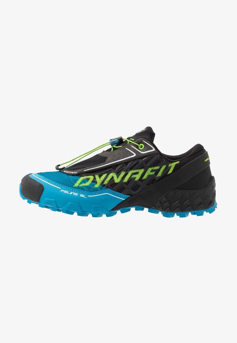 Dynafit - FELINE SL - Trail running shoes - asphalt/methyl blue