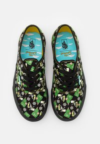 Vans - THE SIMPSONS AUTHENTIC GLOW IN THE DARK - Trainers - black - 3