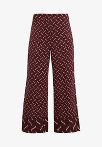 Marella - VALIKA - Trousers - bordeaux - 3