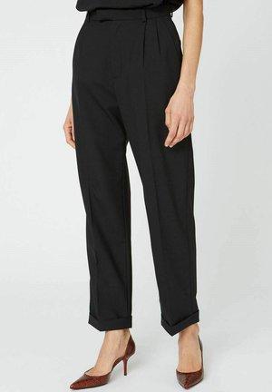 Trousers - black suit