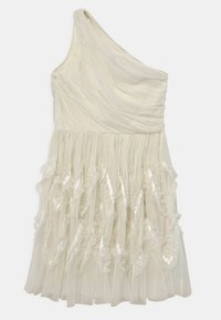 Anaya with love - ONE SHOULDER - Cocktail dress / Party dress - white - 0