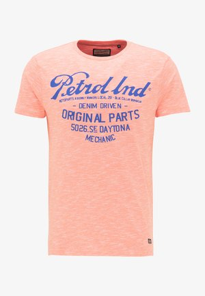 PETROL INDUSTRIES T-SHIRT - Print T-shirt - carrot