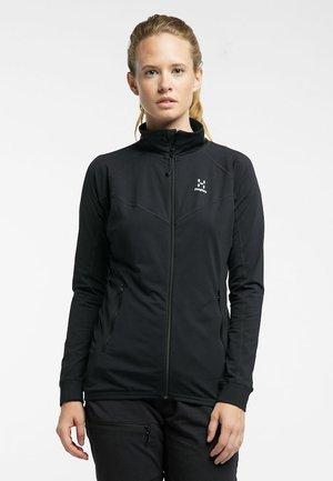 HAGLÖFS FLEECEJACKE LITHE JACKET WOMEN - Soft shell jacket - true black