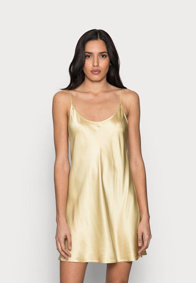 SHORT SLIPDRESS - Camicia da notte - beige/stone