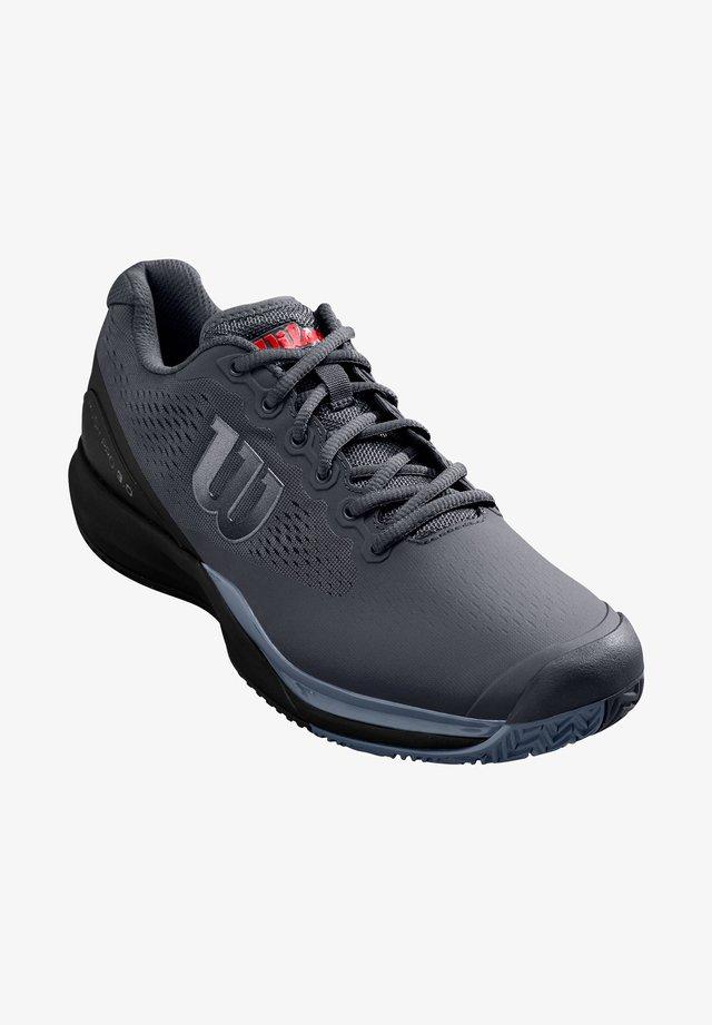 RUSH PRO - Clay court tennis shoes - schwarz