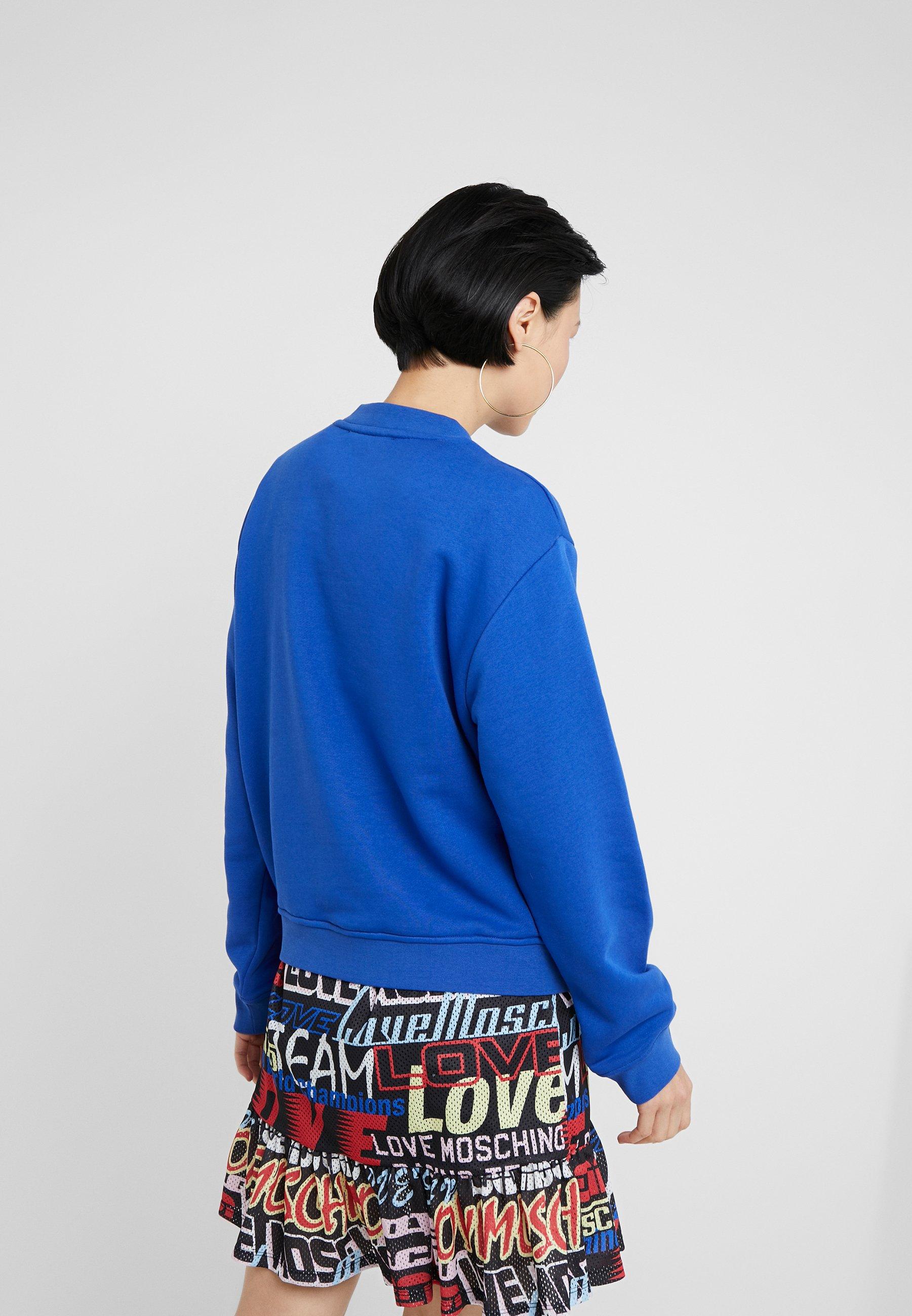 Love Moschino Sweater blueBlauw Zalando.nl