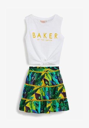 BAKER BY TED BAKER - A-line skirt - multi-coloured