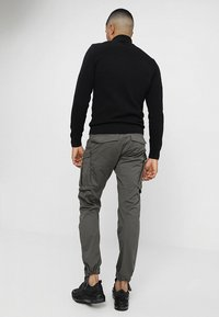 G-Star - ROVIC ZIP 3D STRAIGHT TAPERED - Cargobroek - grey - 2