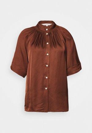 DORIA - Skjorte - chocolate glaze